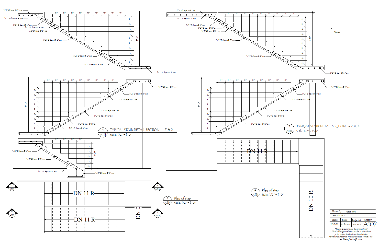 ND0805- stair Details v11 v12.m